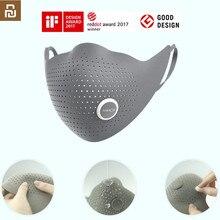 Youpin AirPOP Air Wear PM0.3/PM2.5 антидымчатая маска для лица с 2 шт фильтром регулируемые Висячие удобные маски для лица