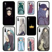Muslim Islamic Gril Queen Phone Case For Samsung S Note20 10 2020 S5 21 30 ultra plus A81 Cover Fundas Coque