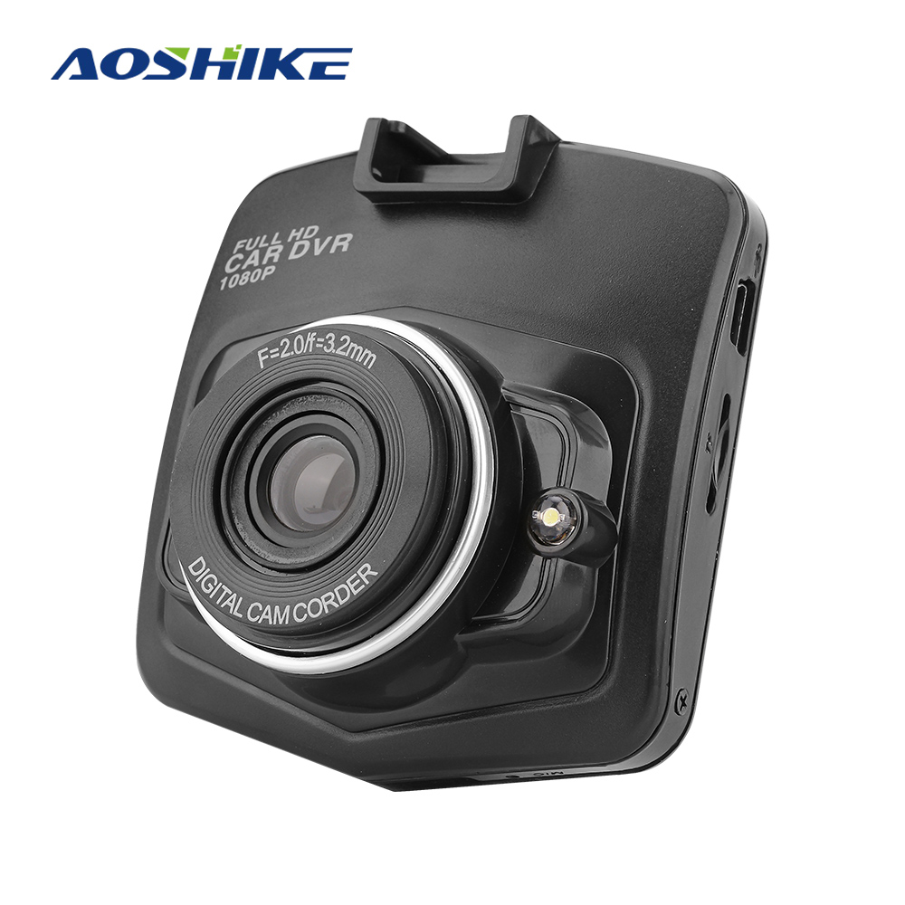 Aoshike New Original Mini Car Dashcam DVR  Camera SD 1080P Recorder Video Recorder G-sensor Night Vision Trace Camera