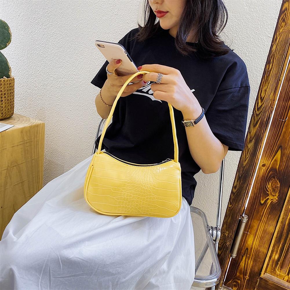 Ležerna torbica od PU kože u praćci ženska elegantna lančana - Torbe - Foto 4