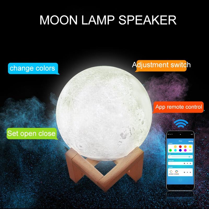 2019 100 Pcs VIP Moon Lamp Speaker