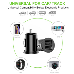 Image 5 - Car Charger For iPhone 7 8 Plus XR XS  IPad Mobile Phone Charger Fast Charging Dual USB Chargers For Samsung S8 A30 A50 Tablets