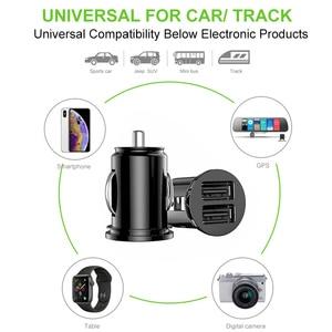 Image 5 - Chargeur de voiture Pour iPhone 7 8 Plus XR XS IPad Chargeur De Téléphone Portable De Charge Rapide Double USB Chargeurs Pour Samsung S8 A30 A50 Comprimés