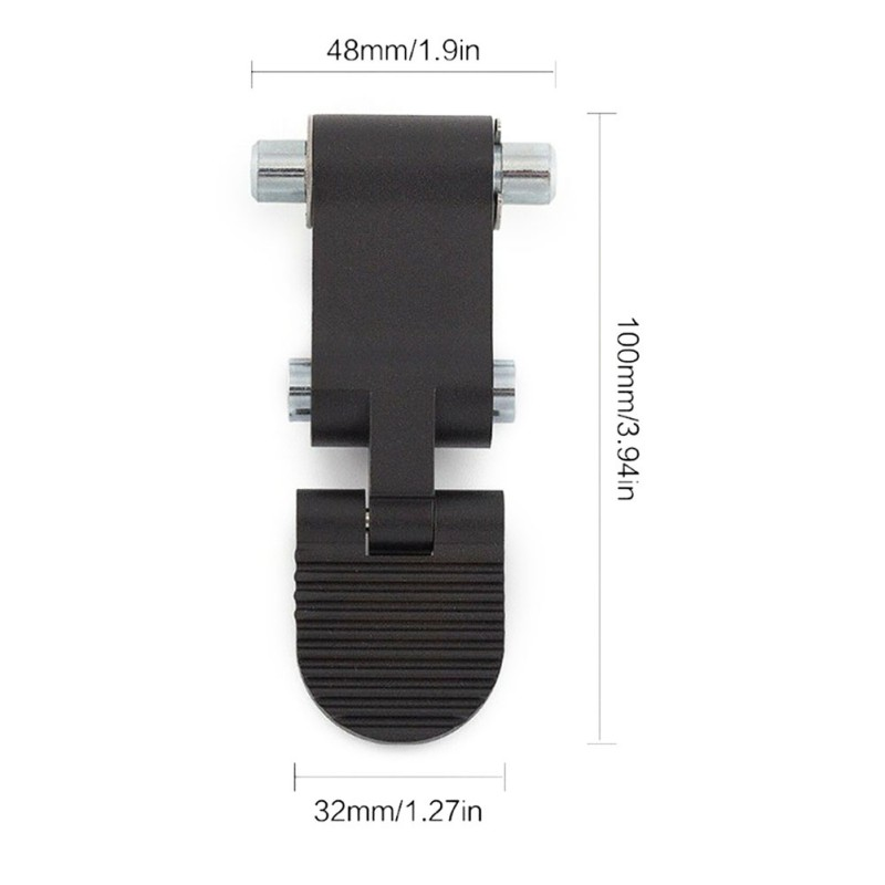 Metal Replacement Practical Repair Part Folding Switch Assembly  Install Mechanism Electric For Ninebot ES2 ES4 Scooter Outdoor