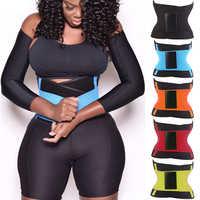 Fitness Xtreme Power Belt Thermo Body Shaper Waist Trainer Trimmer Waist Cincher Wrap Workout Slimming Corset Modeling Shapewear