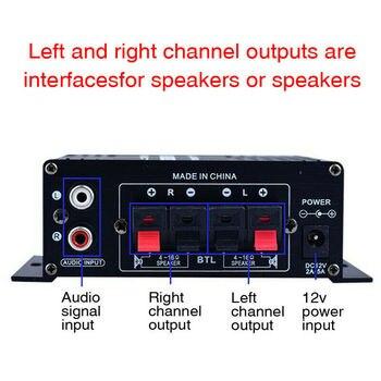 400W HIFI Digital Stereo Audio Sound Power Amplifier  5