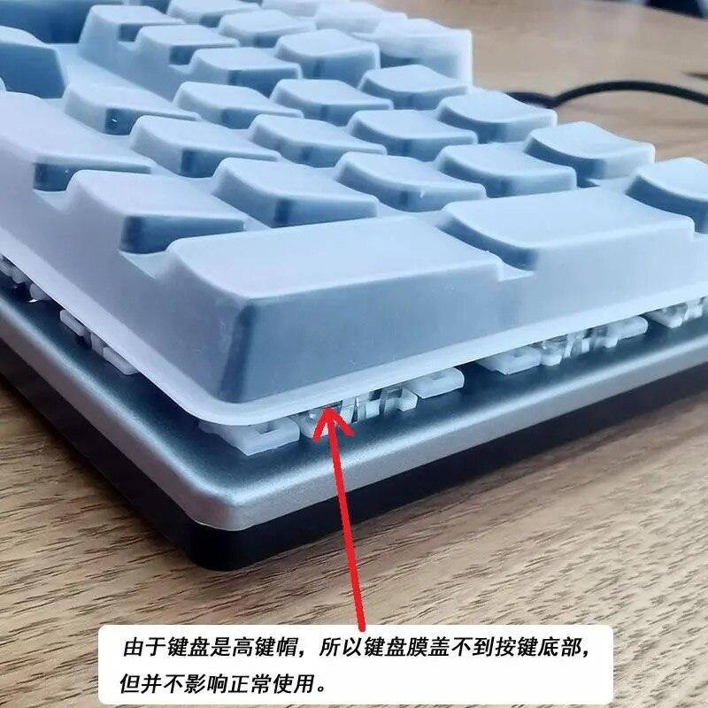 AOC GK410 tastiera meccanica pellicola protettiva USB desktop computer chiave parapolvere copertura protettiva copertura tampone a 104 tasti