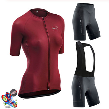 Pro Women Cycling Set MTB Bike Clothing Female Bicycle Clothes Ropa Ciclismo Short Sleeve Road Bike Jerseys Bib Shorts Pants Pad blue cycling women set long sleeve women bike clothing winter ropa ciclismo cycling jerseys suit pink bicycle riding clothes