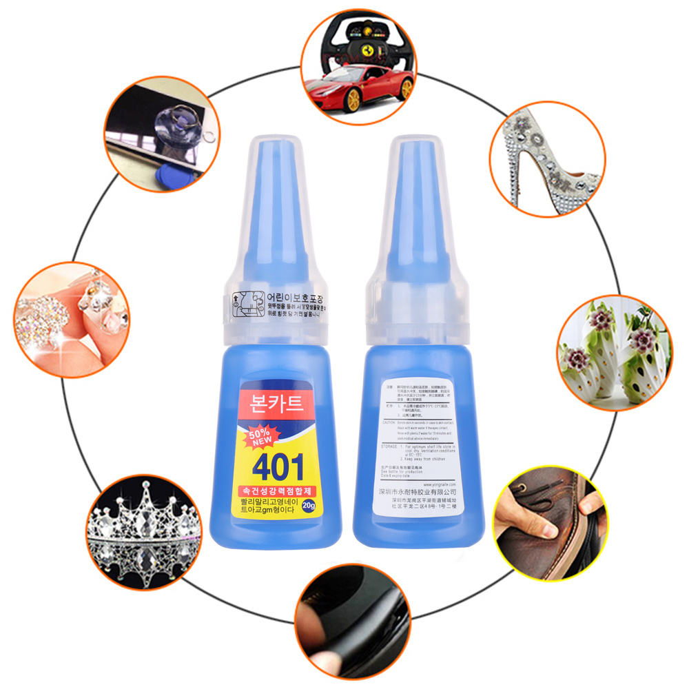 20g Bottle Stronger Fixing Dry Ceramic Glass Glue Super Fast Glue Quick Glue Office Supplies Multi Purpose Repair Bonding Tool|  - title=