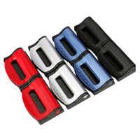 2 uds. Hebillas para el cinturón de seguridad Universal, Clip de cinturón de seguridad de coche, hebilla de cinturón de seguridad de coche, abrebotellas montados en el vehículo, accesorios nuevos