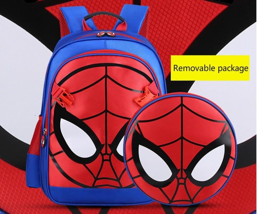 Spiderman school bag,For Boys Waterproof Backpack,3D 3-6 Year Old School Bags