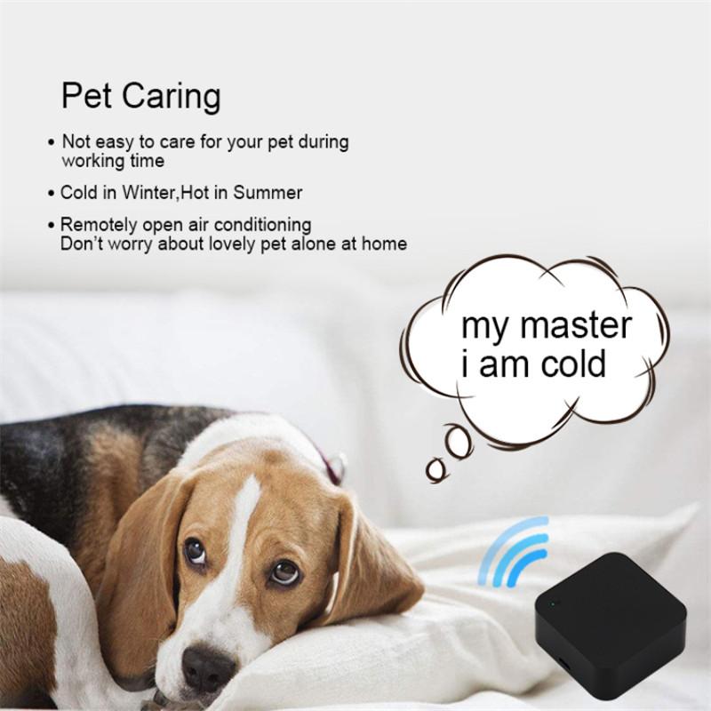 H9dbd596795ba499e8c27293259f1c450d - Mini Smart Home Automation WIFI IR Remote Control Intelligent Universal 2.4GHz WIFI IR Remote for Alexa Echo Google Home