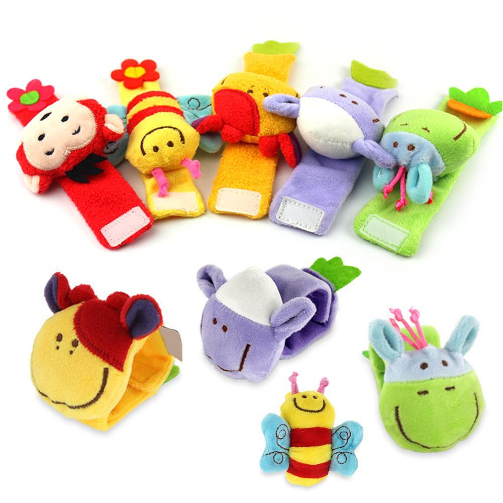 Baby Rattle Toy Rattle Set Baby Sensory Toys Wrist Band Rattle Bracelet Gift New 2019
