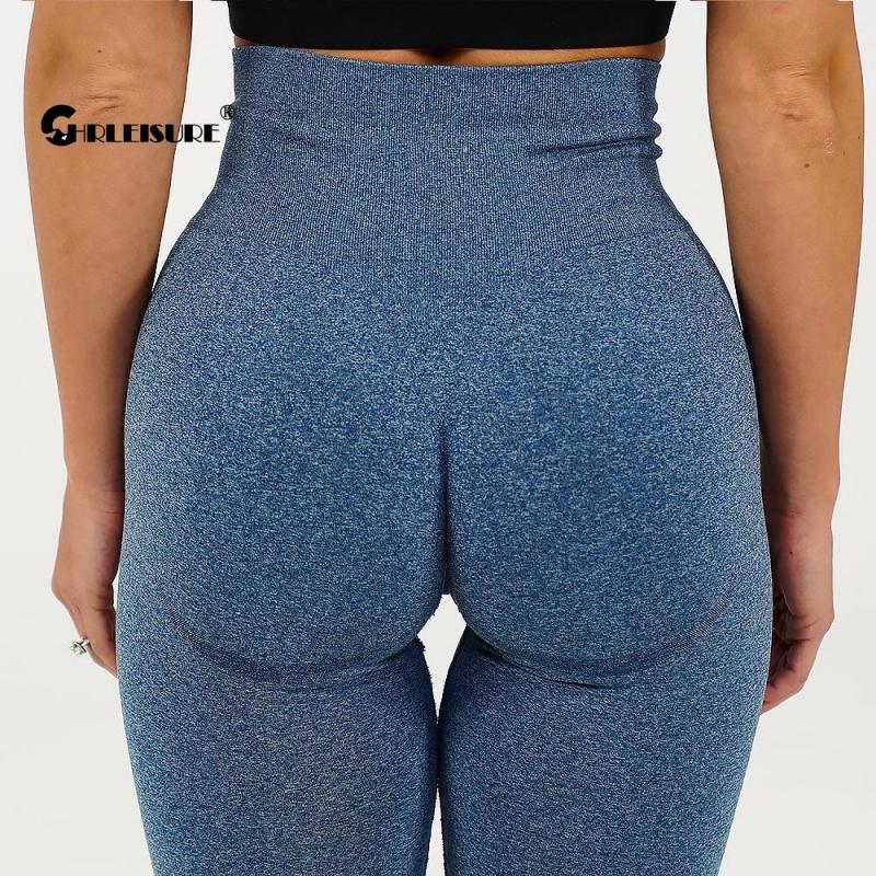 CHRLEISURE Workout Gym Legging Seamless Leggings Women Sport Pants Butt Booty Push Up Pant High Waist Fitness Pant Yoga Leggings|Yoga Pants| - AliExpress