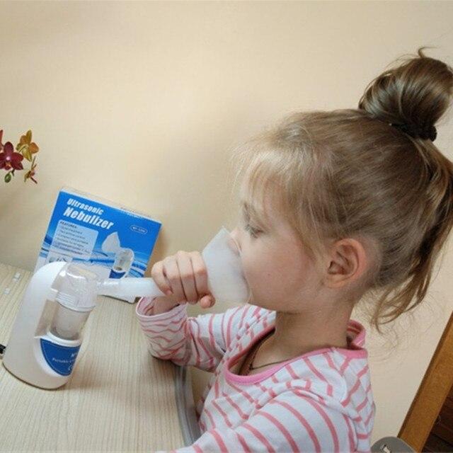 home health asthma nebulizer inhaler portable automizer children care inhaler nebulizer ultrasonic nebulizer with EU/US/UK Plug 4