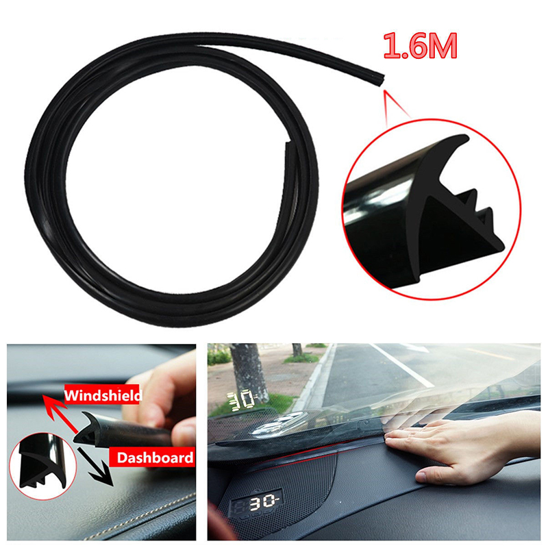 Sealing-Strip Windshield Car-Rubber Sound-Insulation Auto Dashboard U-Shape title=