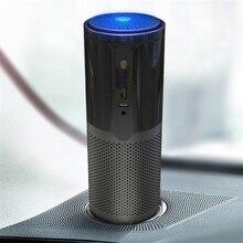 GIAHOL inteligentne monitorowanie jakości powietrza H11 filtr Hepa oczyszczanie pulpit samochodowy przenośny oczyszczacz powietrza