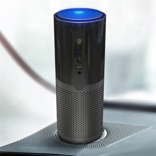 GIAHOL surveillance intelligente de la qualité de lair H11 Hepa filtre Purification bureau voiture Portable purificateur dair