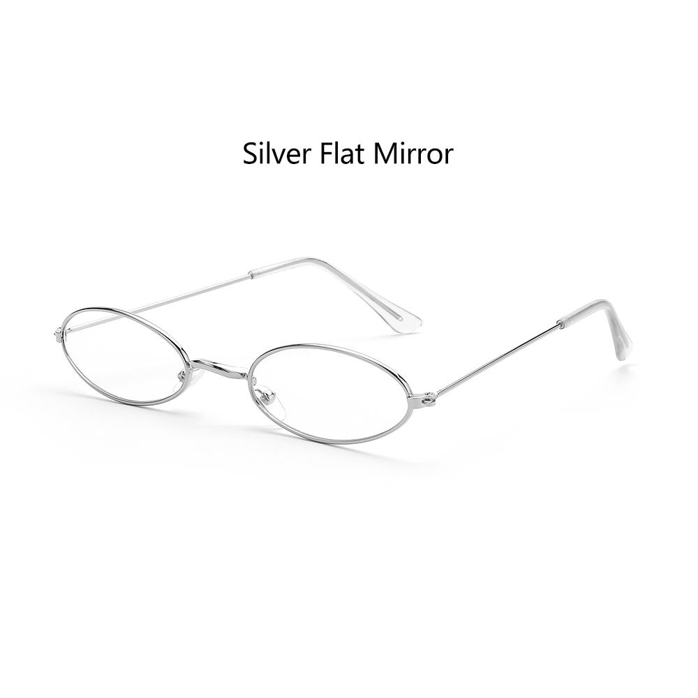 Fashion Vintage Shades Sun Glasses Elegant okulary Retro Small Oval Sunglasses for Men Women Eyeglasses gafas oculos 21