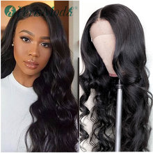 Free Parting PerisModa Lace Front Body Wave Synthetic Wigs f