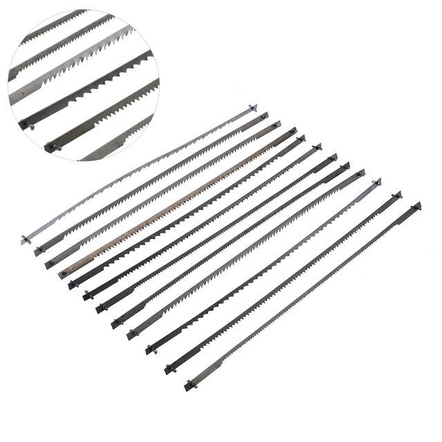12 adet/takım sabit kaydırma testere bıçakları ağaç elektrikli el aletleri aksesuarları 125mm siyah 10/15/18/24 diş