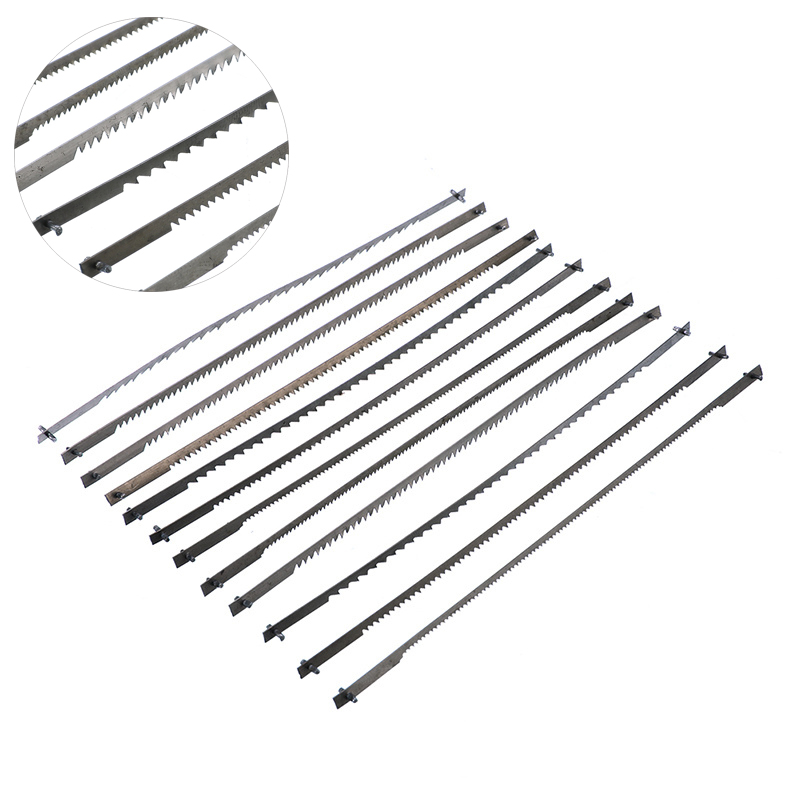 12pcs/set Pinned Scroll Saw Blades Woodworking Power Tools Accessories 125mm Black 10/15/18/24 Teeth