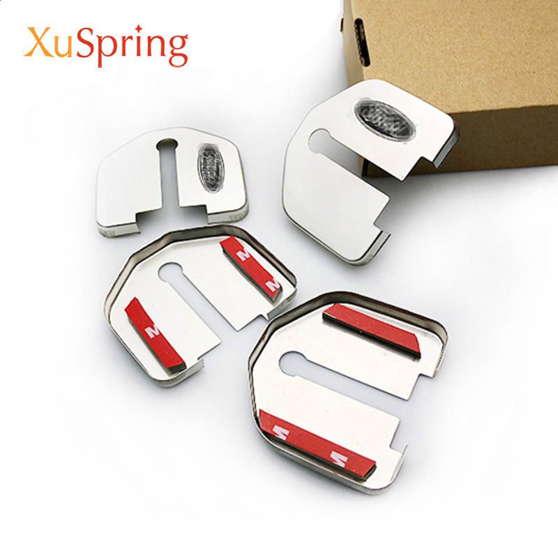 For Ford Kuga Focus Mustang Explorer Mondeo Edge Taurus F150 2008-2020 Car Door Lock Cover Protective Caps Case Styling