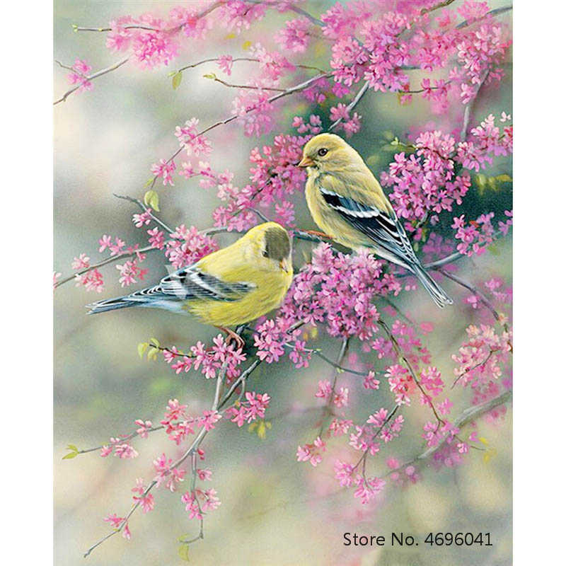 Painting By Numbers Frameworks Coloring By Numbers Home Decor Pictures Animal Decorations RSB8420