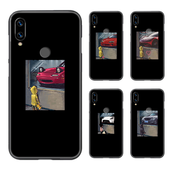 JDM cars fashion Phone Case Cover Hull For XIAOMI Redmi 7a 8a S2 K20 NOTE 5 5a 6 7 8 8t 9 9s pro max black hoesjes pretty prime image