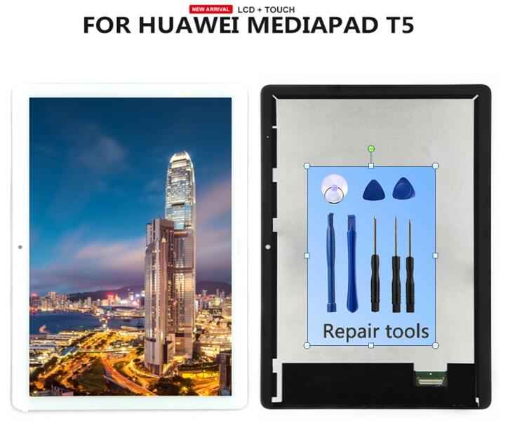 For Huawei MediaPad T5 10 AGS2-L09 AGS2-W09 AGS2-L03 AGS2-W19 LCD Display & Touch Screen Digitizer Assembly  Tablet + Tools