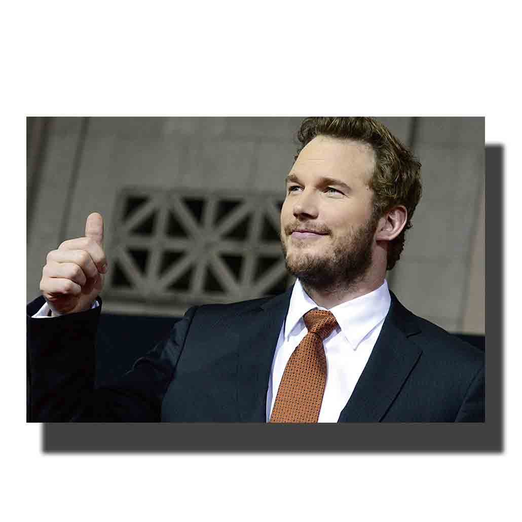 L835 chris pratt movie poster actor hot gift canvas art painting 14x21 24x36 print Decoration Room wall Picture image