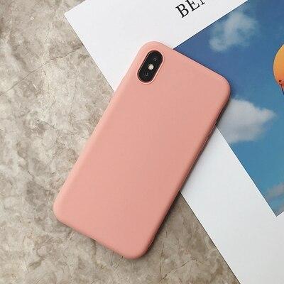 Силиконовый чехол для iPhone 11 Pro Max, чехол из мягкого ТПУ, матовый цветной чехол для телефона s, чехол для iPhone 6 7 8 Plus 6S XS Max XR X Etui - Цвет: SD-4