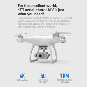 Image 4 - KALIONE K777 GPS Drone 4K Two Axis Gimbal Stabilizer ZOOM Camera 1KM 5G WIFI Brushless SD Card Professional 30Mins time VS X35
