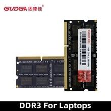 GUDGA DDR3 4GB 8GB 1600MHz Sodimm memoria ram 1.35V Notebook RAM 204Pin Laptop Memory Ram Sodimm DDR 3 RAMs Computer Accessories