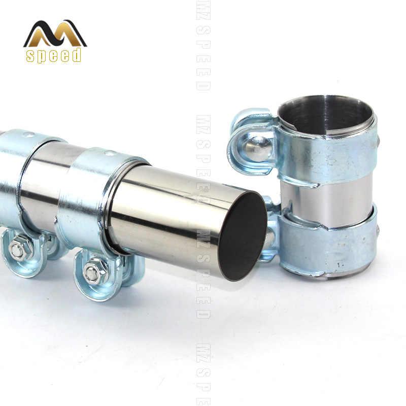 Acier Inoxydable Tuyau D/'échappement Decat connecteur tube Silencieux élargi conduit de fumée
