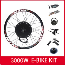150Mm Dropout 90 Km/h Max Snelheid Lcd Display 3000W Elektrische Fiets Conversie Kit 48V-72V 3000W E Bike Conversie Kit