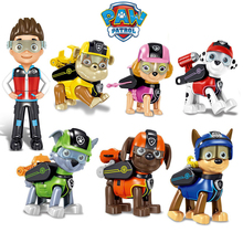 Paw Patrol Toys Dog Rescue Deformation Toy Puppy Patrol Ryder PAW Patrol Anime Patrulla Canina Action Figure Model Kid Boy Gift