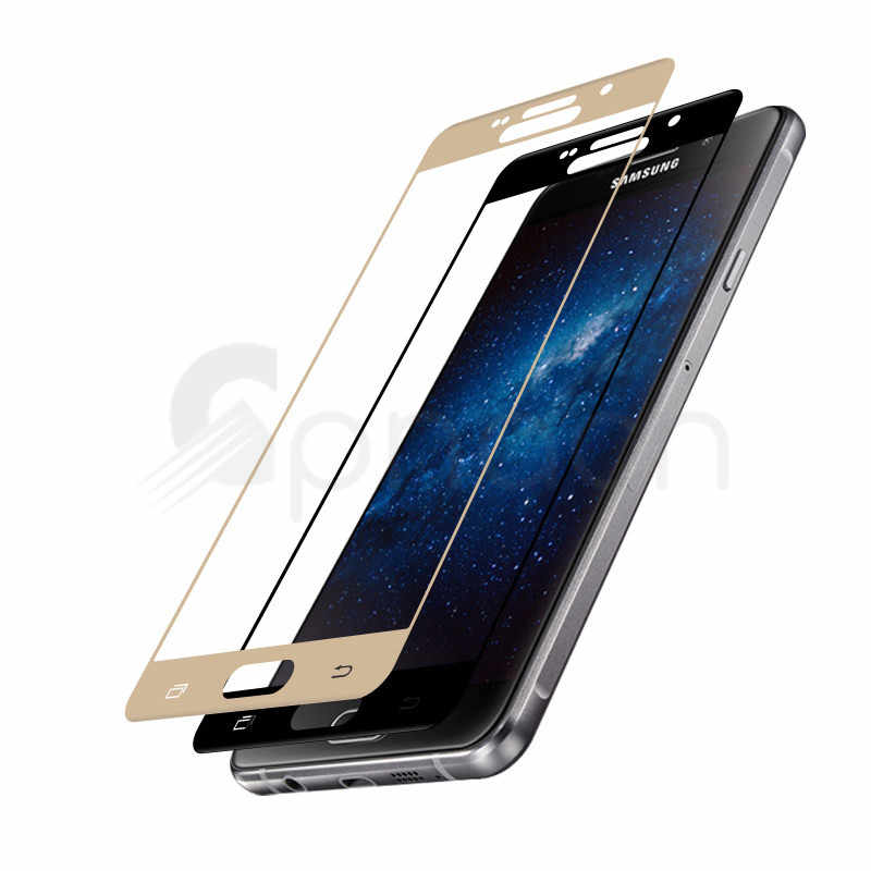 9D стекло на samsung Galaxy A3 A5 A7 протектор экрана закаленное стекло для samsung J3 J5 J7 2016 2017 S7 защитная пленка
