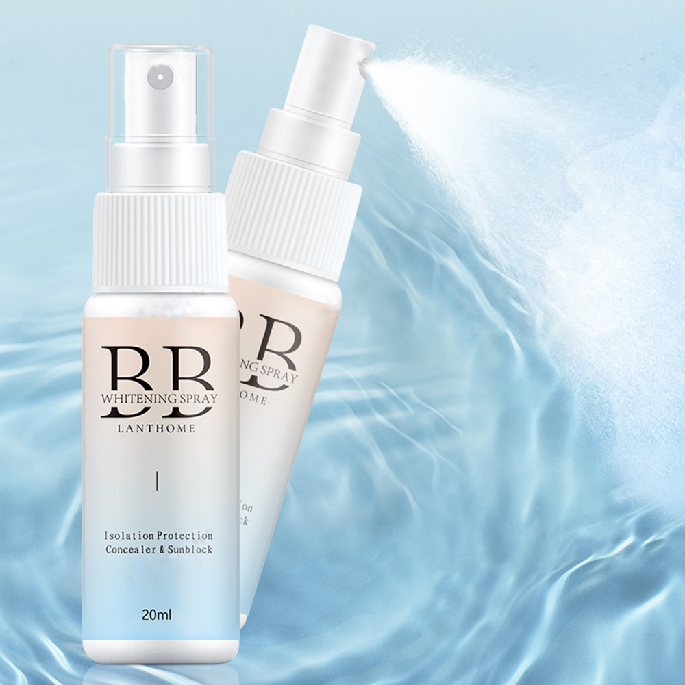 1 Pcs New BB Cream Spray Body Whitening Cream For Private Underarms Hands Skin Whitening Lotion Whitening Deep Sunscreen