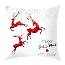 Christmas Cushion Decoration Pillow Case Cover Special Home Removable Washable CaseCM