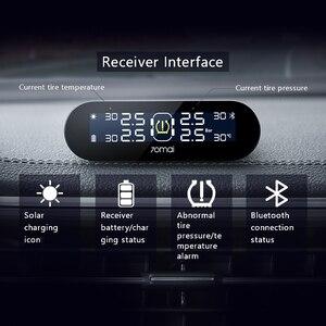 Image 2 - Скидка 300 руб при покупке от 2500  руб Code: 300VIP 70mai tpms система контроля давления в шинах английское приложение Солнечная энергия USB tpms 70mai автомобильные датчики давления в шинах Система сигнализации