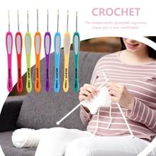 Crochet-Hook Knitting-Needles-Set Plastic-Handle Craft-Tool Weaving-Sewing-Crafts Circular