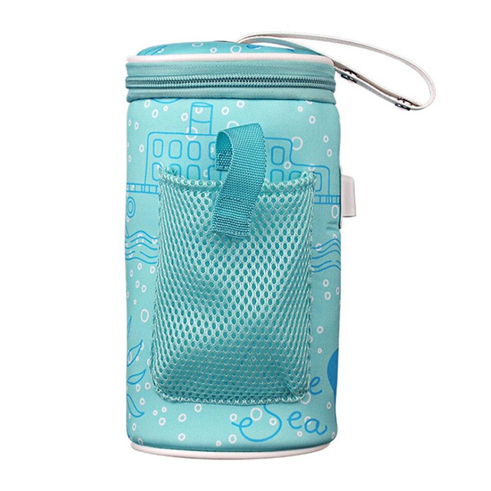 Бутылка для напитков, сумка для кормления ребенка, изолированный USB нагреватель для путешествий, чашка для новорожденных, термостат