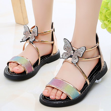 2020 Summer New Girl's Sandals Princess Shoes Fashion Childr