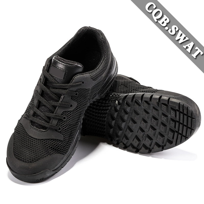 Outdoor Training Boots Black Tiger Low Top Combat Boots Ultra-Light Outdoor Tactical Boots