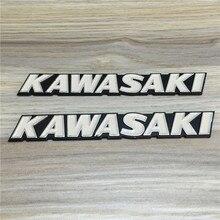 สำหรับดัดแปลง Kawasaki Kawasaki รถ Retro Street รถ Stereoscopic ถังเชื้อเพลิงอลูมิเนียม Hard มาตรฐานตัวอักษรสีขาว Buoy
