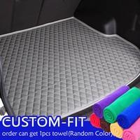 Shenlao car trunk mats For Mitsubishi Pajero Sport 2013 2014 2015 accessories trunk cargo liner
