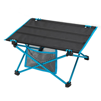 Outdoor Camping Mini Folding Table Light Portable Barbecue Picnic Table Aluminum Alloy Tea Table Bed Computer Desk BBQ travel