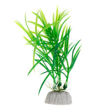 Fish Tank Decoration Short Paragraph Lucky Bamboo Artificial Water Plants Drop Ship Support(China)