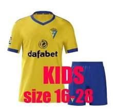 20 21 para crianças kits cádiz camisa de futebol 2020 2021 crianças cadiz camisa camisa de futebol jérsei maglia t-shirts